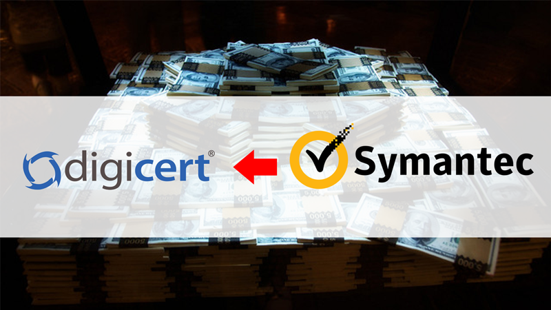 شركة DigiCert تستحوذ على Symantec